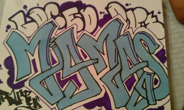 My personal GraFfitti by my lil homie...StAYINg CRAfTeD