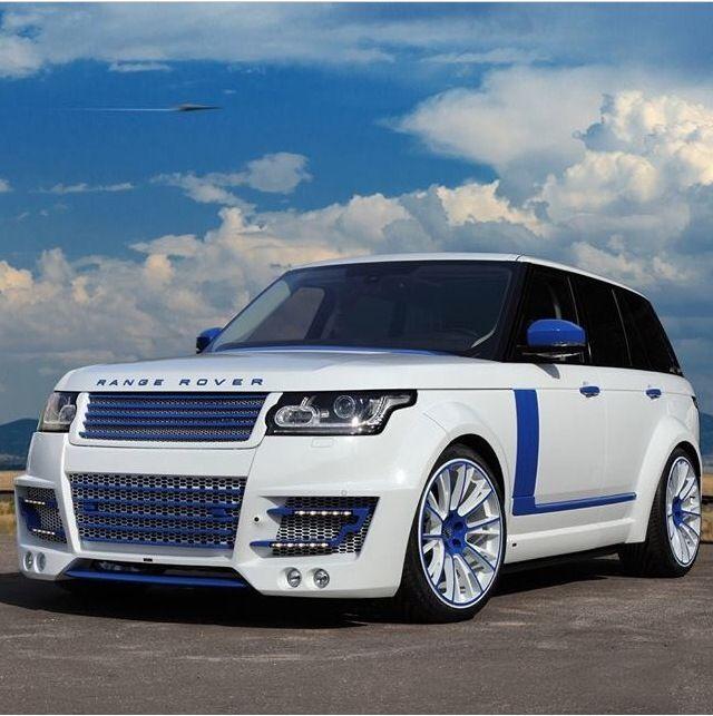 White Blue Range Rover Sport Range Rover Range Rover Sport Luxury Cars Range Rover