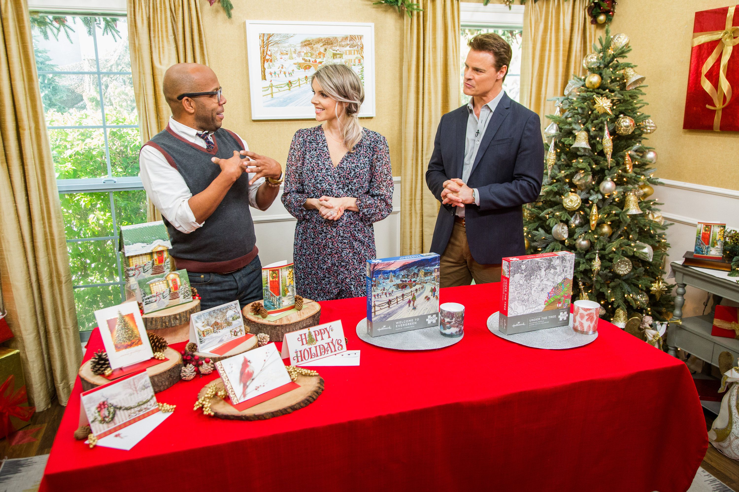 DIY Evergreen Christmas Silhouette (Part 1) - Home & Family - Video | Hallmark Channel | Family ...