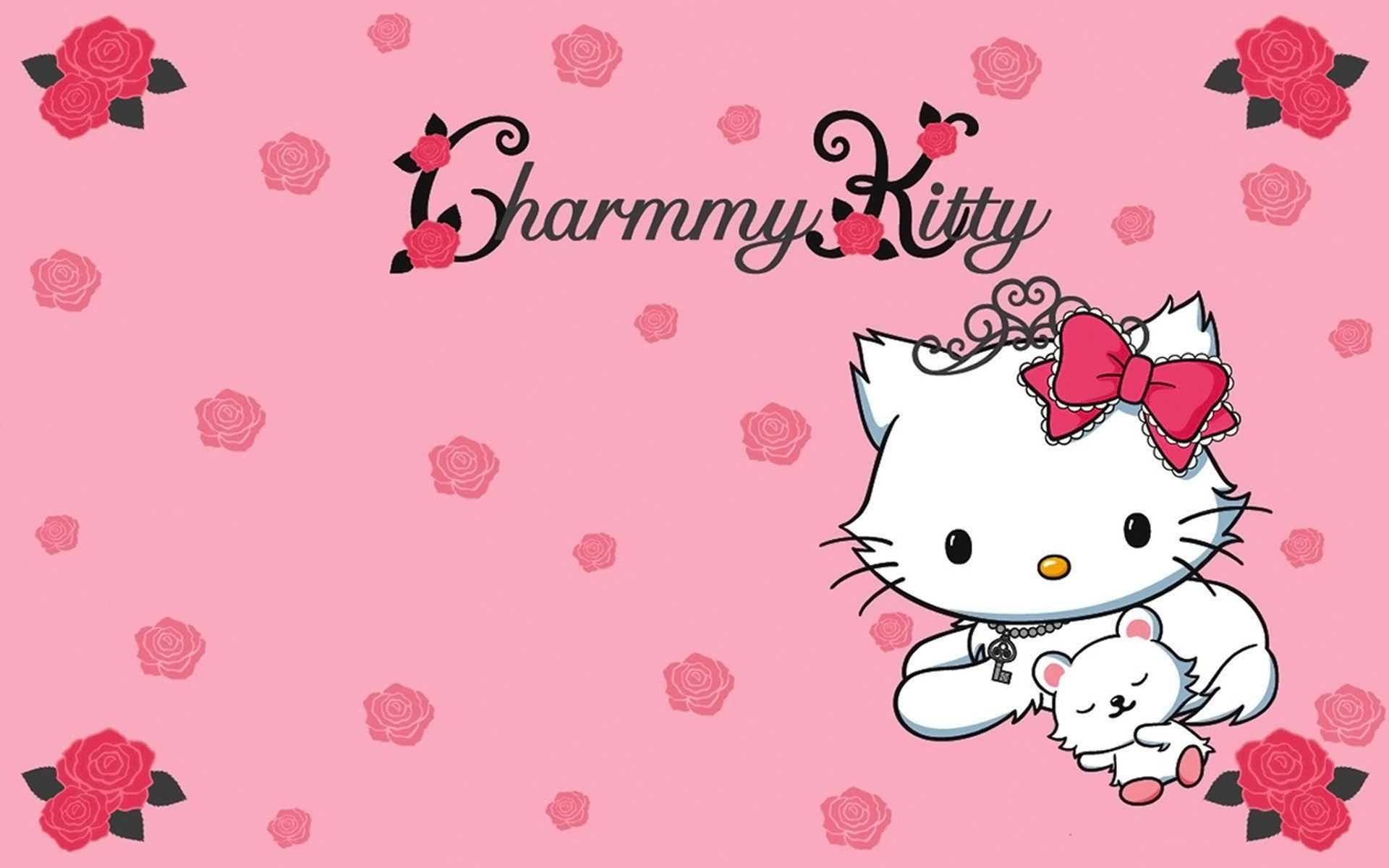 Hello Kitty Pretty Picture Background Kitty Wallpaper Sanrio