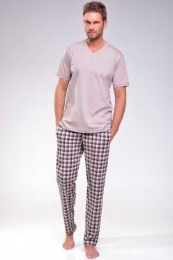 Hnedé pyžamo Adam
