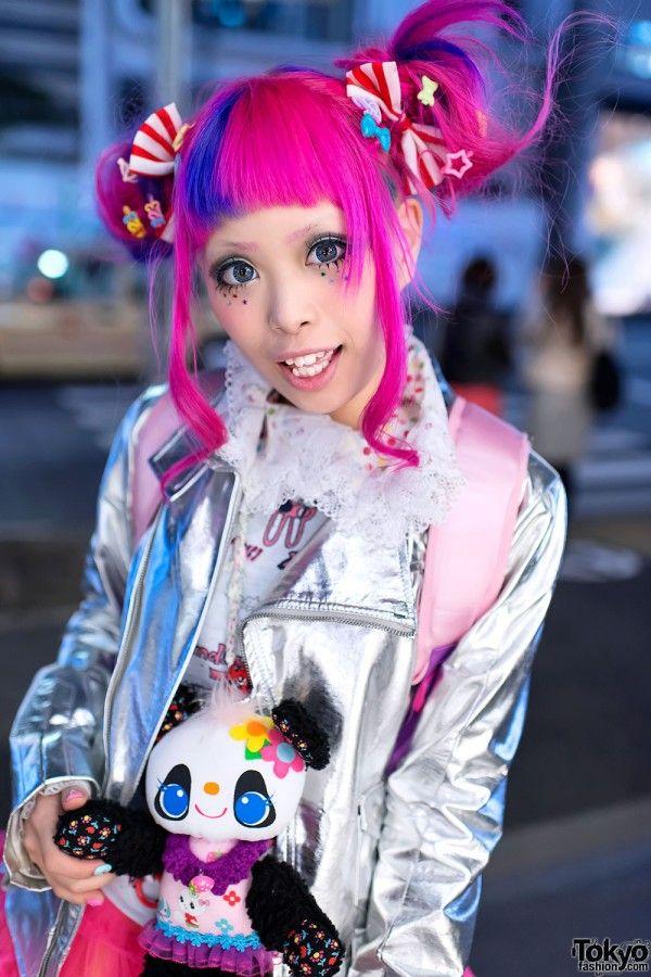 Rt Tokyofashion Haruka Kurebayashi S Super Kawaii Pink Hair Fashion In Harajuku Http Flip It Aw70u Harajuku Harajuku Girls Japan Fashion