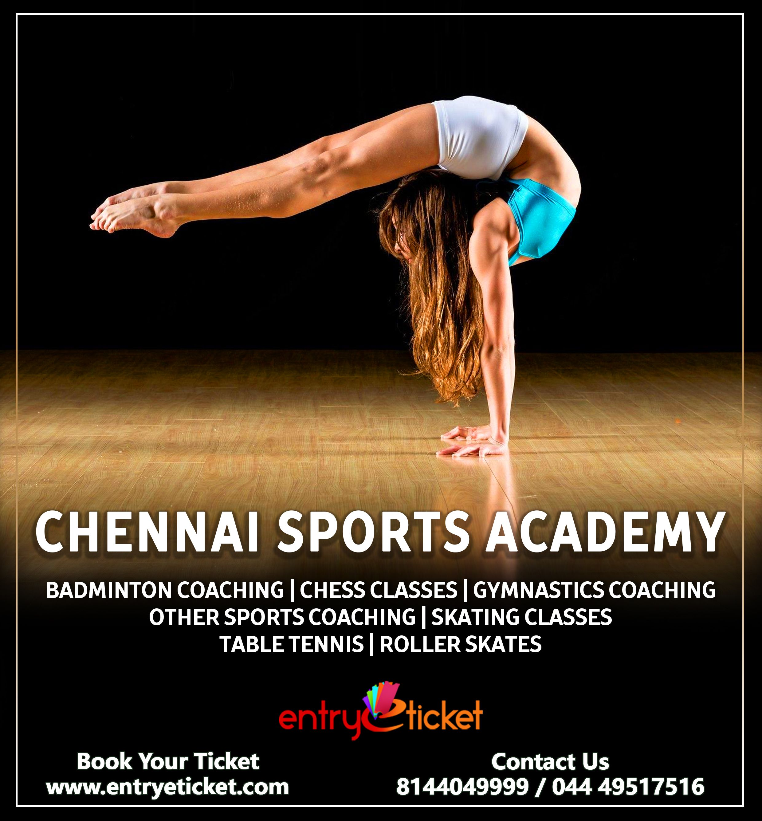 Registration Available Https Www Entryeticket Com Sports Chennai Sports Academy Sports Entryeticket Che Gymnastics Coaching Sports Coach Boxing Coach