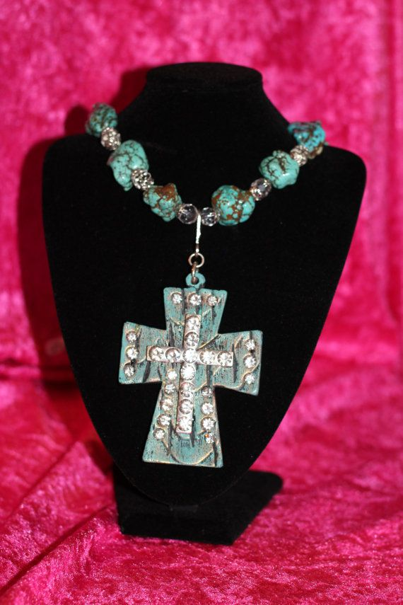 Western Chunky Bling Cowgirl Necklace with by txcowgirlboutique ... cd0630a6251c