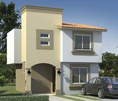 Casas modernas con terraza al frente en segundo piso for Fachadas de casas segundo piso