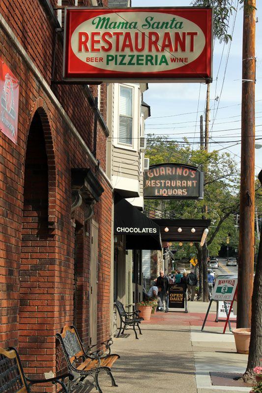 Photos Of Historic Little Italy In Cleveland Pizza Restaurants Rocks
