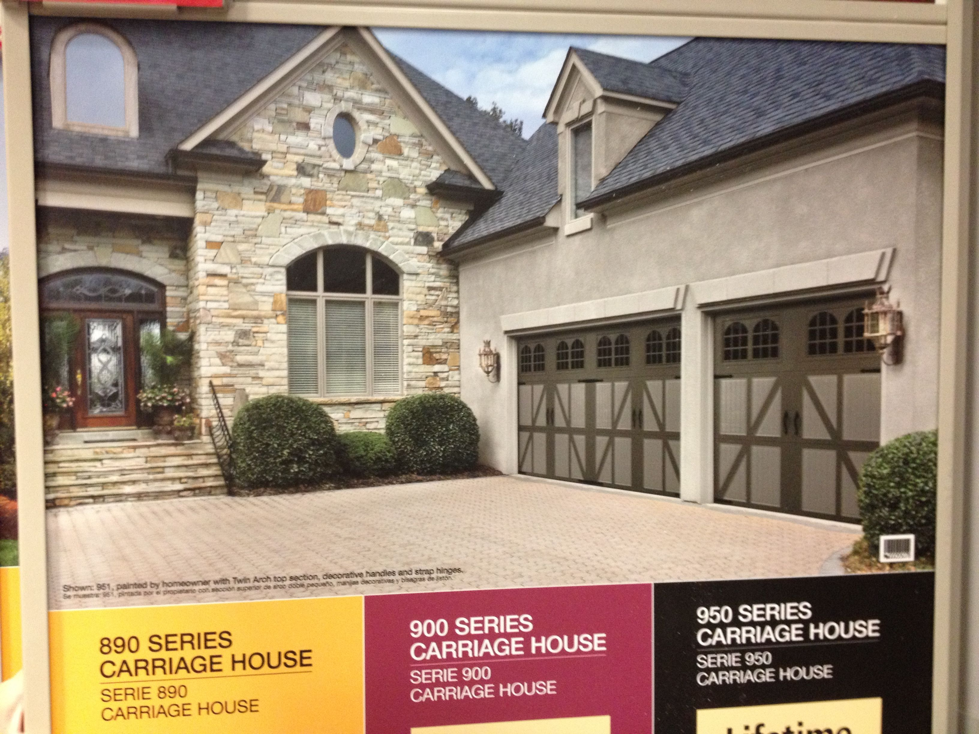 Traditional Garage Door Idea Garage Door Ideas Pinterest
