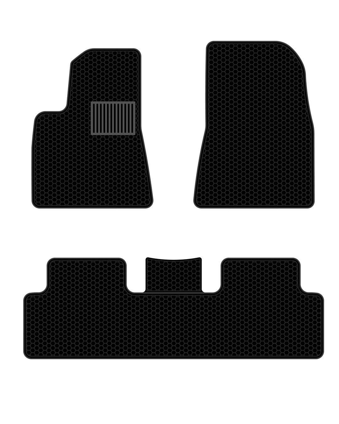All Weather Waterproof Floor Mats Compatible For Tesla Model 3 Heavy Duty Black Rubber Environmental Materials With Images Waterproof Floor Mats Car Carpet Floor Mats