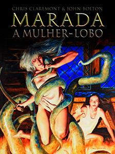 Capa de Marada, publicada pela Pipoca e Nanquim.