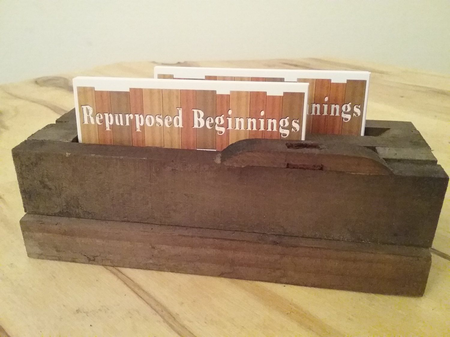 Antique Piano Business Card Holder by RepurposedBeginnings on Etsy ...