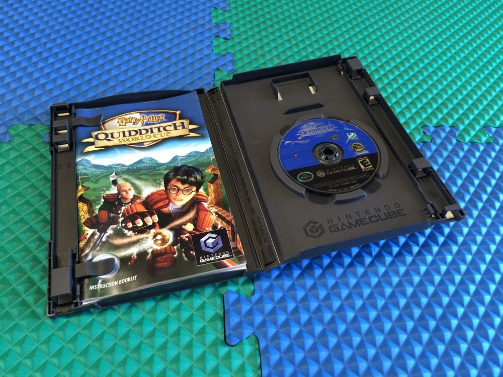 COMPLETE WORKS PERFECTLY NINTENDO GAMECUBE GAME HARRY