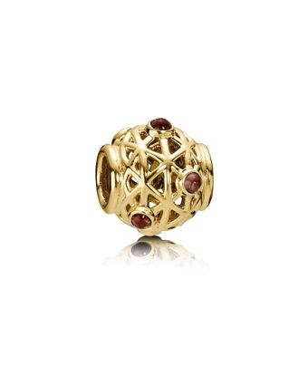 70a617325 Pandora 14Kt Constellation Rhodolite Charm Available at:  www.always-forever.com