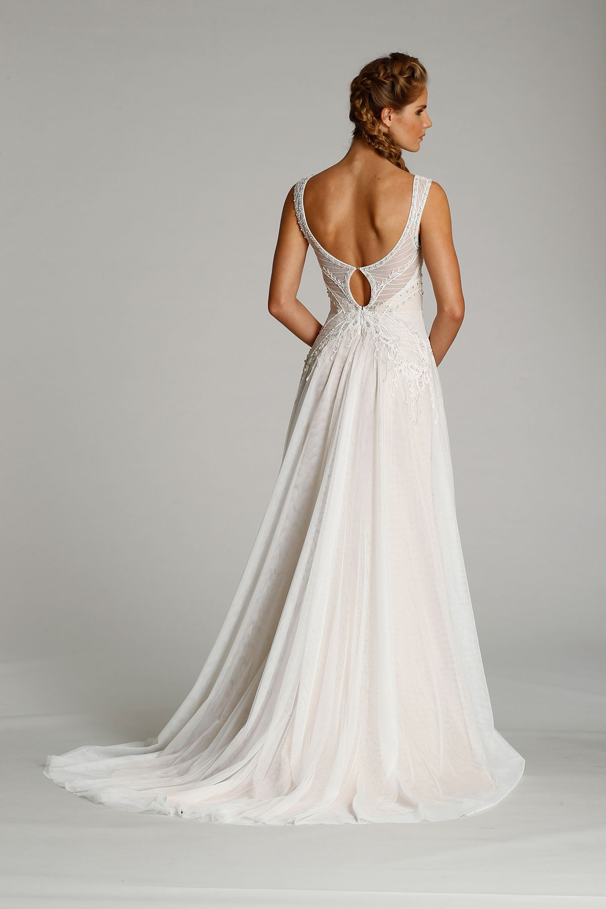 Style back view heart aflutter bridal pinterest wedding