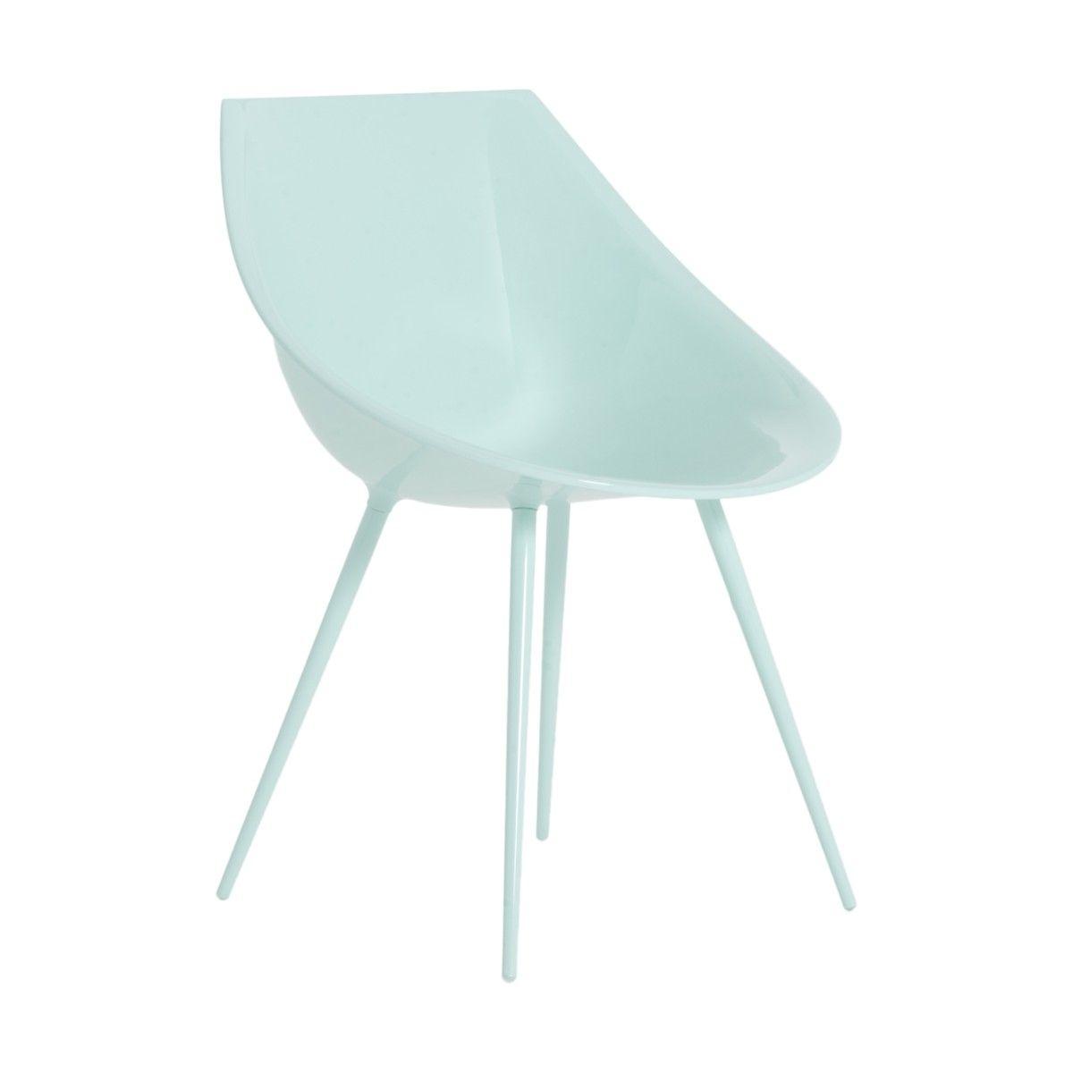 Sedia Lagò celeste design di Philippe Starck | DRIADE | Sedie ...