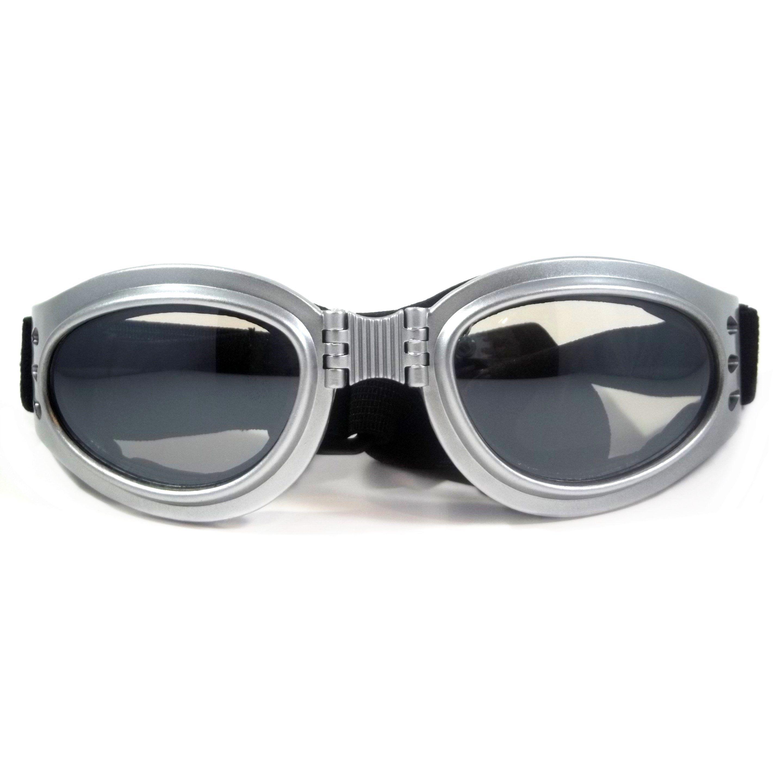 Motorcycle Goggles ThunderRise Foldable Padded Anti Fog