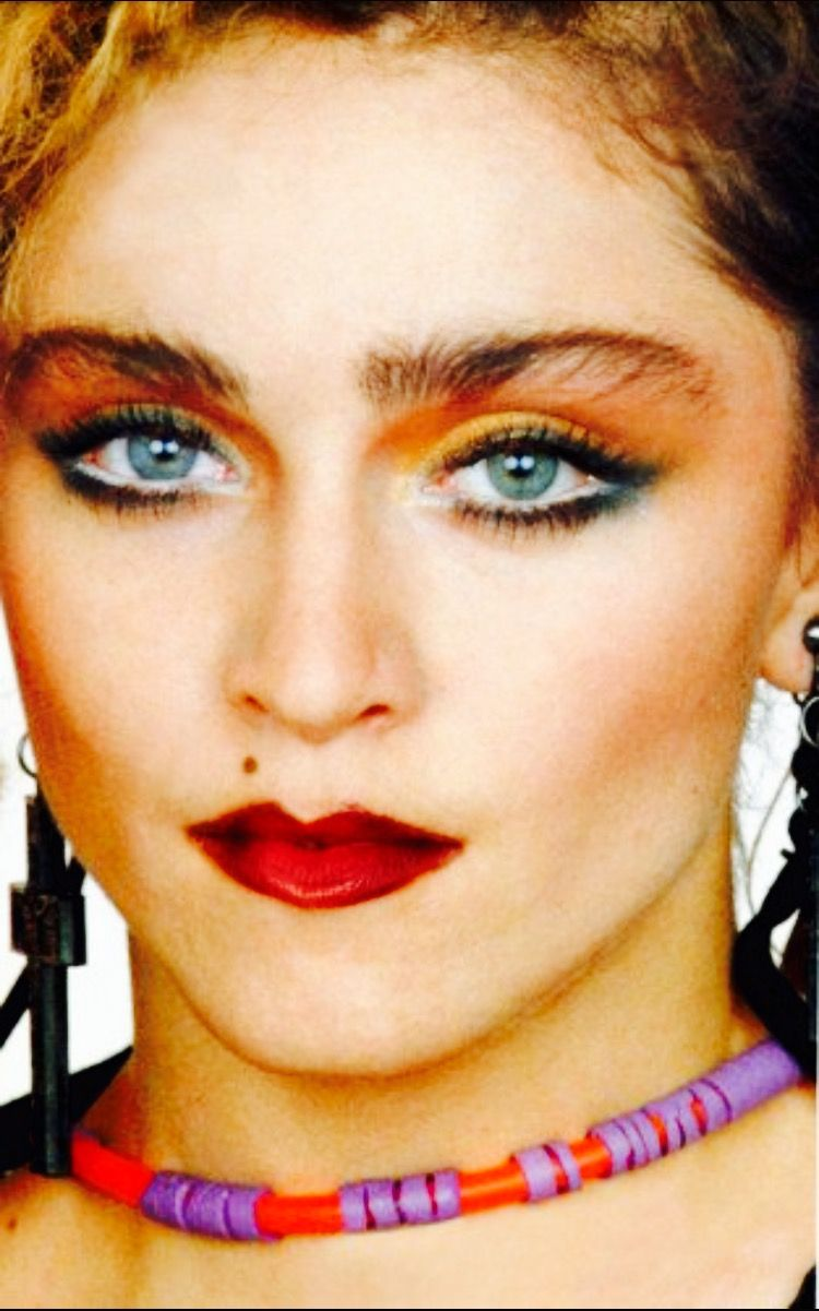 Madonna 80s Makeup Image By Toxic Glam On Madonna 80 S 1980s