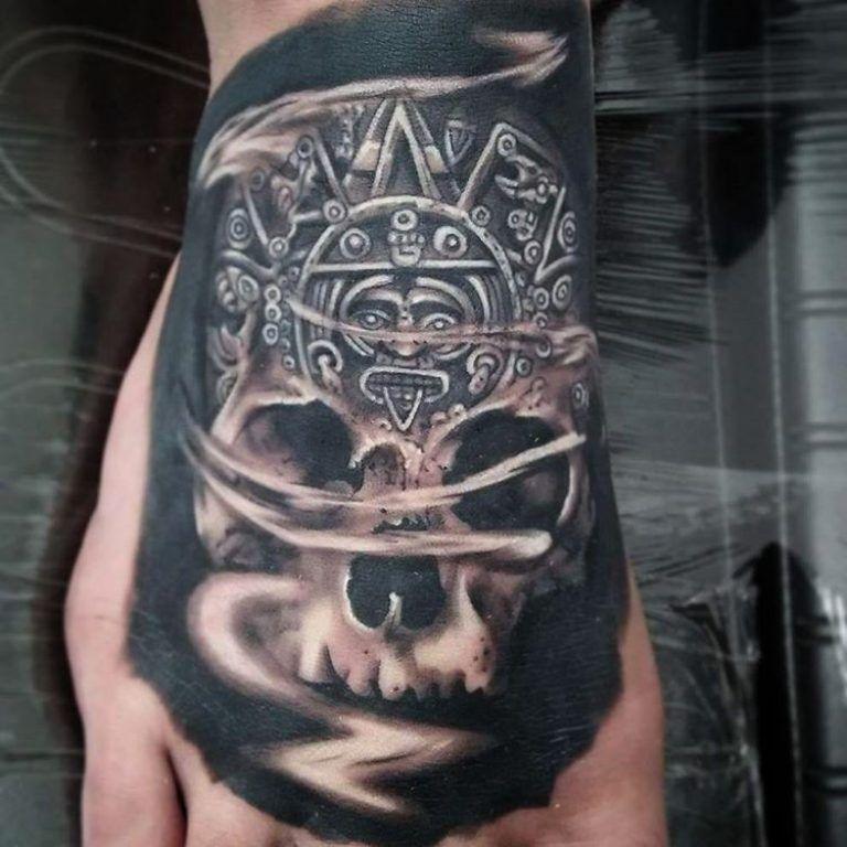 Mayan Tattoo_ | Real | Mayan tattoos, Tattoos, Modern tattoos