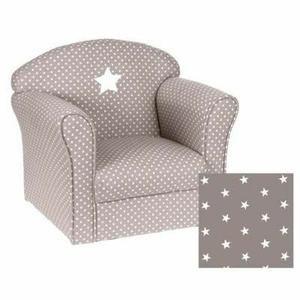 fauteuil canap bb fauteuil pour enfant taupe - Fauteuil Gris Pour Chambre