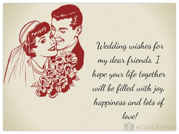 Wedding Wishes For My Dear Friends With Images Wedding Wishes