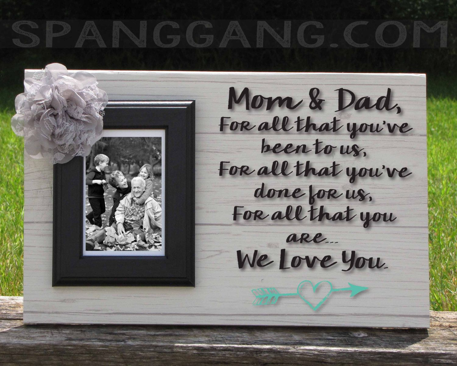 50th Wedding Anniversary Gifts, Parents Anniversary Gift