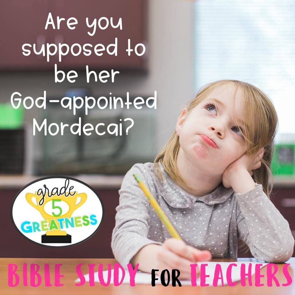 Bible study for teachers on Esther and