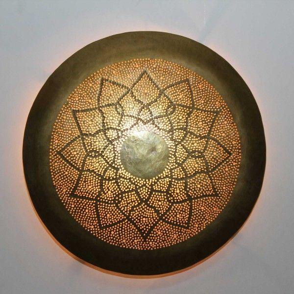 Messing wandlampe aladdin orientalische lampen maghreb art dream love sleep in 2019 - Orientalische wandgestaltung ...