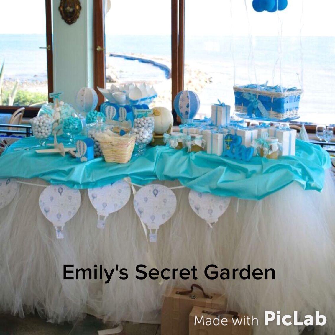Famoso Battesimo tema mongolfiera! Maggio 2015 | Emily's secret garden  NE36