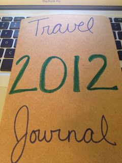 From Paris with Love: Keeping up with the Hatmakers {2012 Version) - Keep a travel journal of where you stay, eat, and go. At the end of the year you will have a keepsake and all the memories written down!