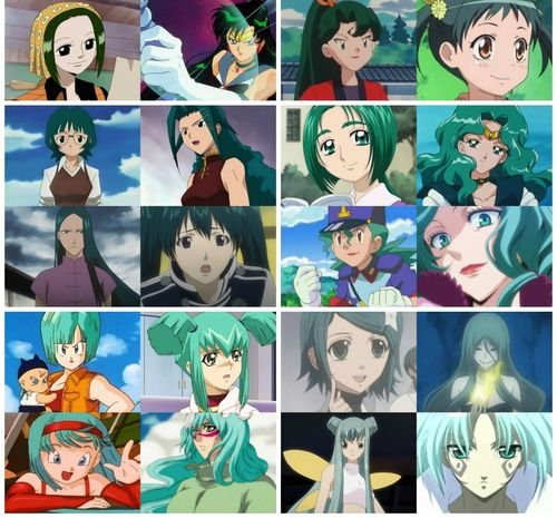 Anime Fan Art Green Turquoise Haired Anime Characters Anime Anime Warrior Anime Fanart