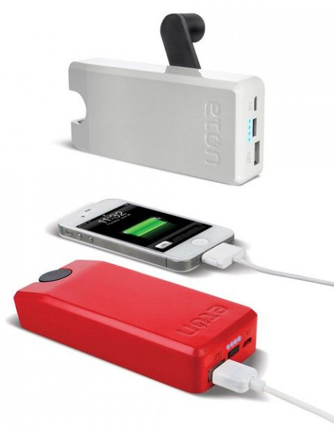 Este #gadget puede salvarte de mas de un apuro de batería!! ;) Hand Turbine Power Generator #camping