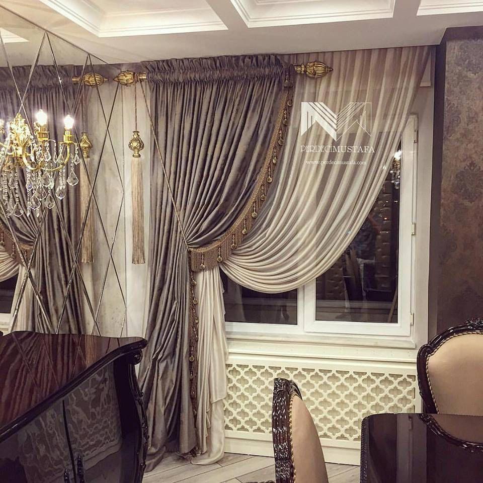 Perdecimustafa Tarzimizdan Cizgimizden Kucukbirgoruntu Perdecimustafa Perdetasarim Duvar Living Room Decor Curtains Luxury Curtains Curtains Living Room