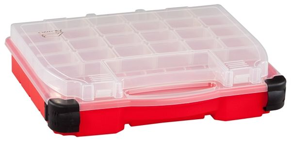 Plano Storage Solutions 14 Double Cover Box With Lockjaw Latches
