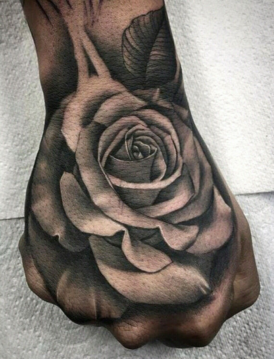 Pin By Denny 24 On Tattoos Rose Hand Tattoo Hand Tattoos For Guys Hand Tattoos