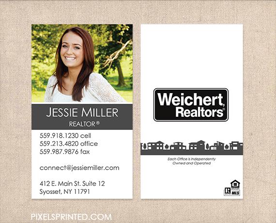 weichert business cards weichert marketing products realtor modern - Real Estate Agent Business Cards