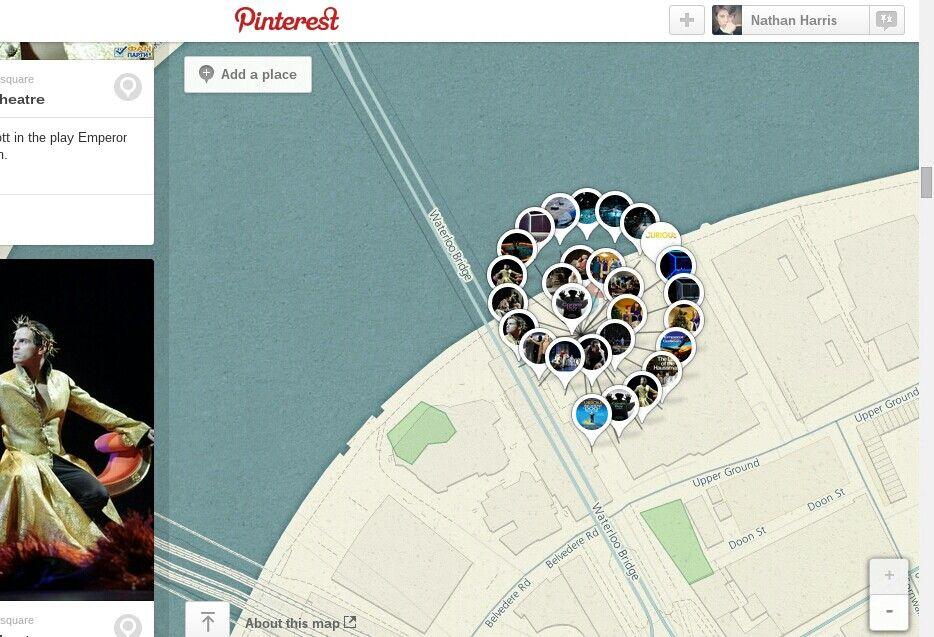 Pinterest's pretty spirals