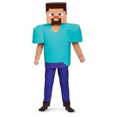 Minecraft Creeper Vacuform Childs Mask, Boy\u0027s, Multi-Colored - minecraft halloween costume ideas