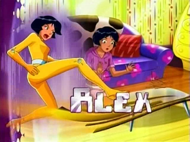 Intro totally spies totally spies spy cartoon - Totally spies alex ...
