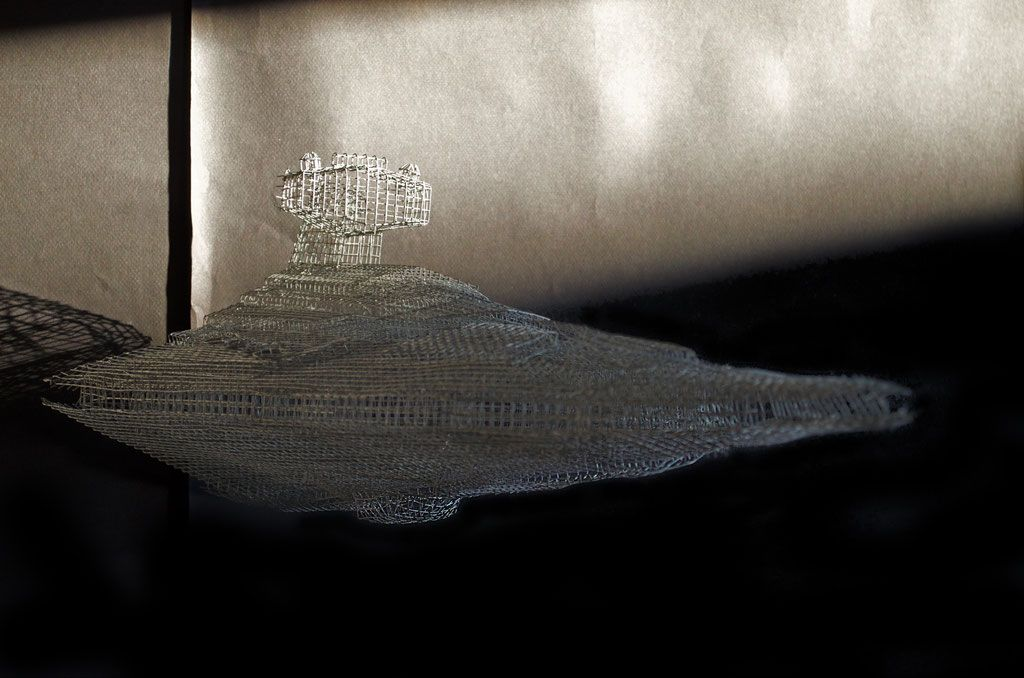 Star Destroyer - Site de lamboy-sculpture !