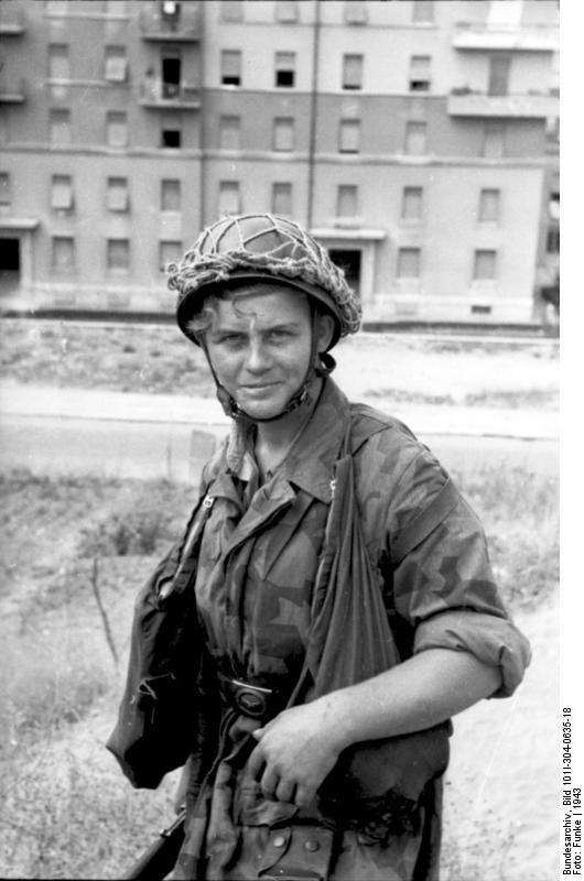 Italian paratrooper