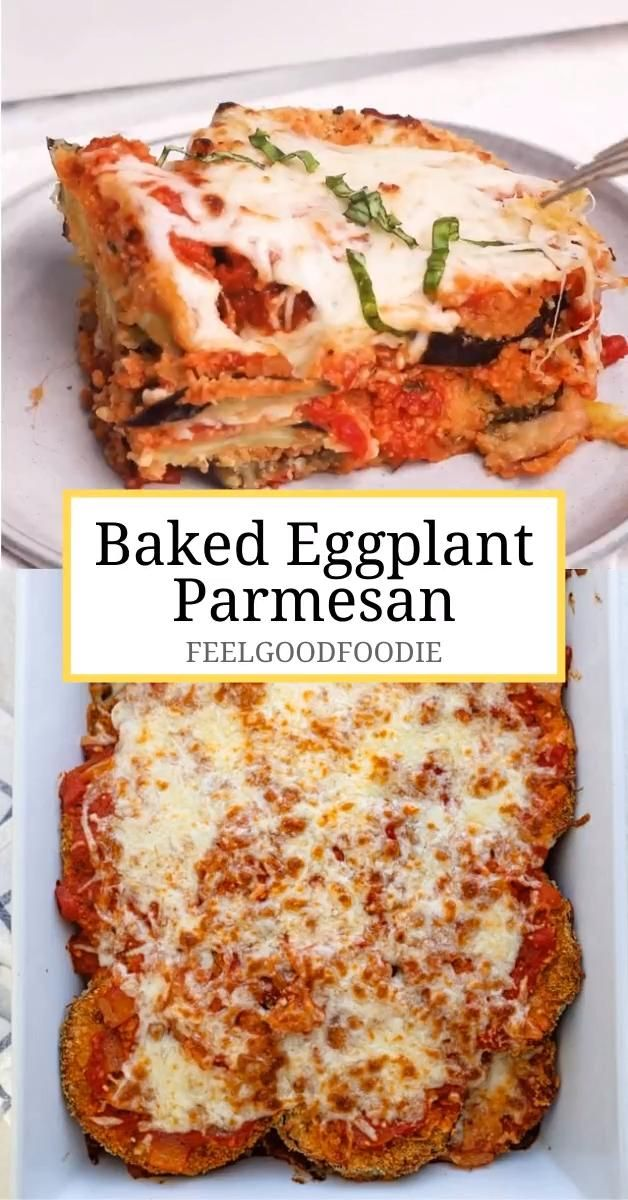 Photo of Baked Eggplant Parmesan