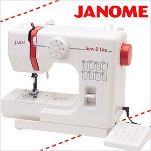 【着後レビューで送料無料】ジャノメJANOME高性能コンパクト電動ミシン[JA525]電動ミシンジャノメミシン多機能簡単軽量フットペダル6,429円 (税込 6,943 円) 送料込