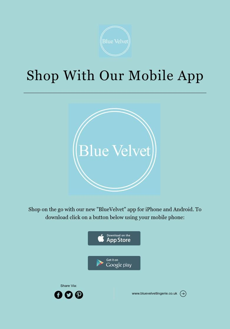 Shop With Our Mobile App Mobile app, App, Velvet shop