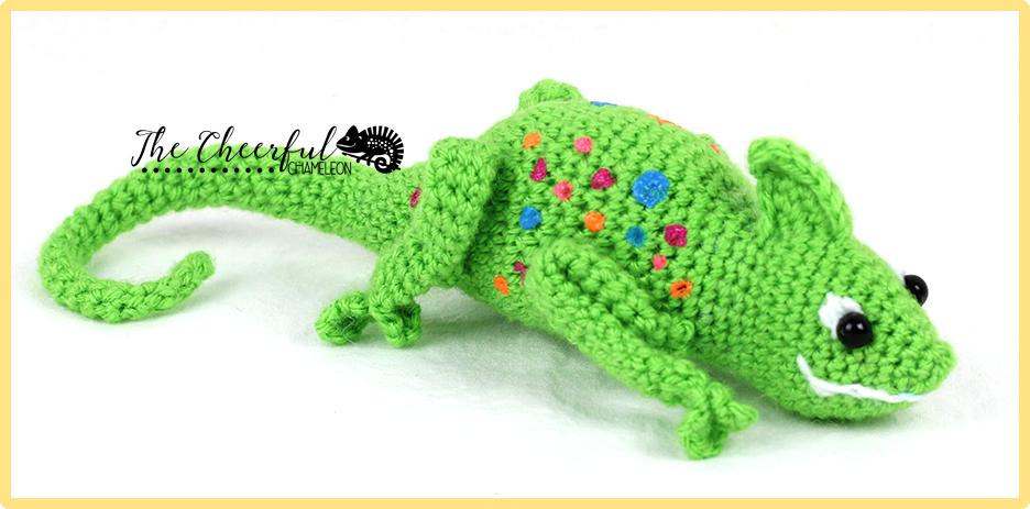 Clyde the Chameleon   Amigurumi   Pinterest   Häkeln, Häkeln crochet ...