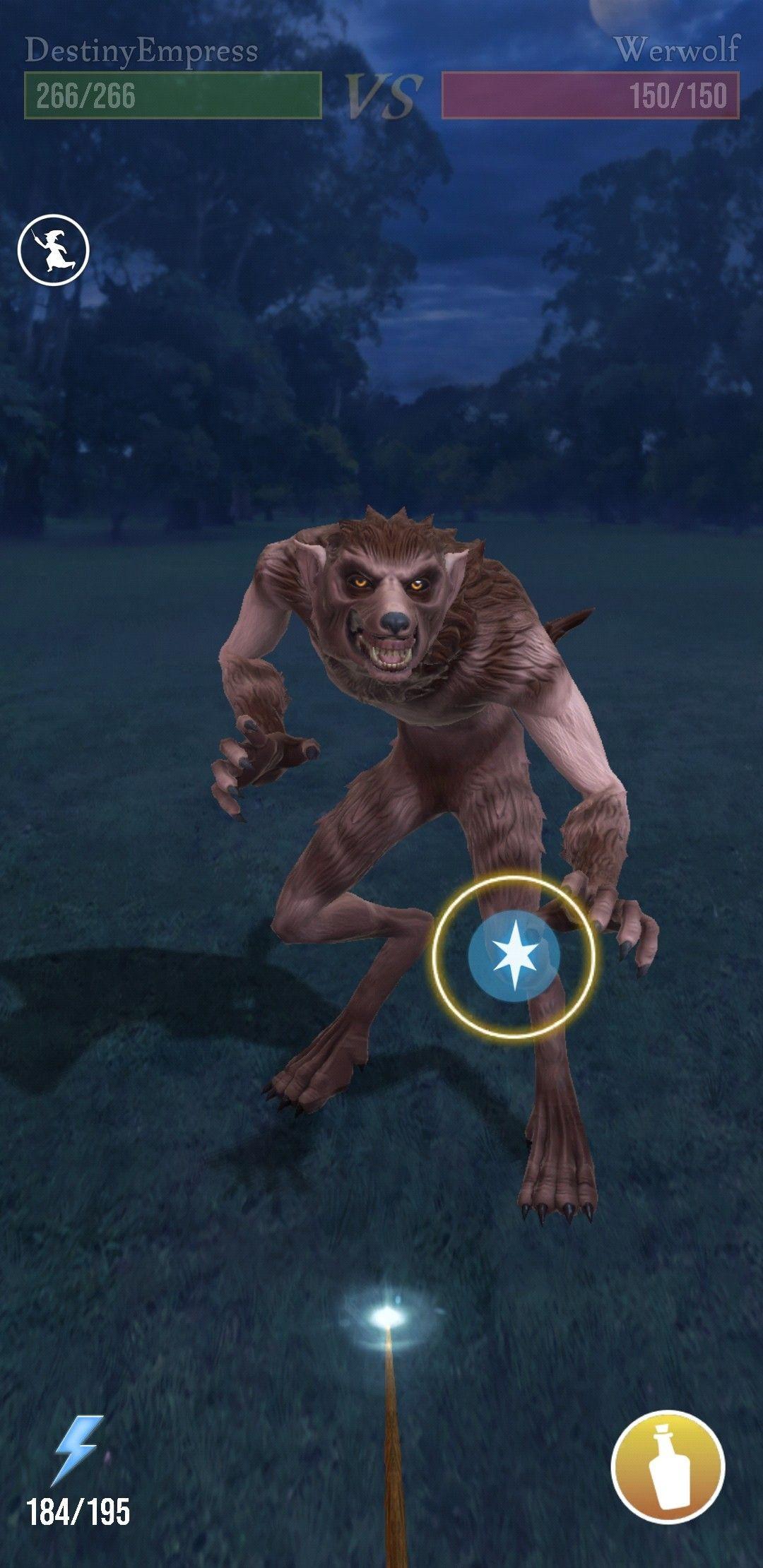 Pin Von Astrid K Auf Wizards Unite Werwolf