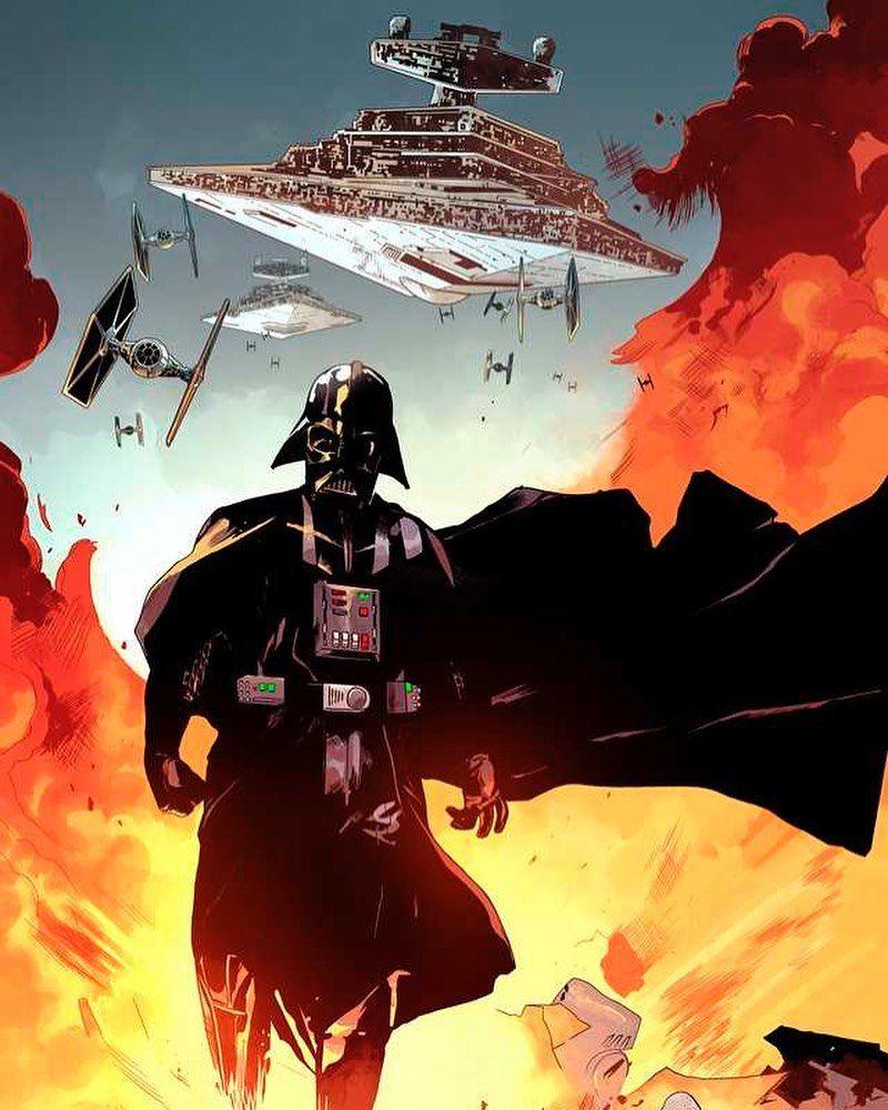 Star Wars Hd On Instagram Love This Vader Art Posted By U Stirredturd Reddit Via Https Reddit App In 2020 Dark Side Star Wars Star Wars Art Star Wars Images