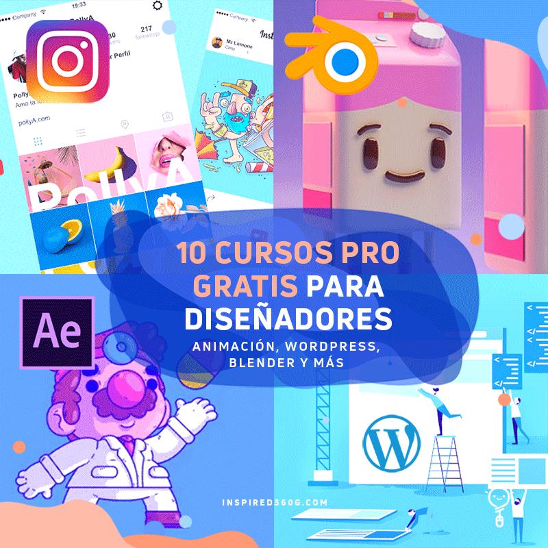 10 Pro Cursos Gratuitos Online De Diseño Gráfico En Línea Diseño Grafico En Linea Diseño Grafico Gratis Disenos De Unas