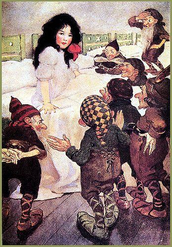Vintage Snow White-