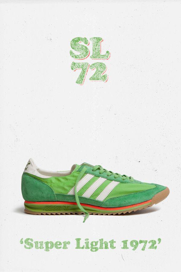 buy popular fbab5 462b2 adidas Originals SL 72  Green