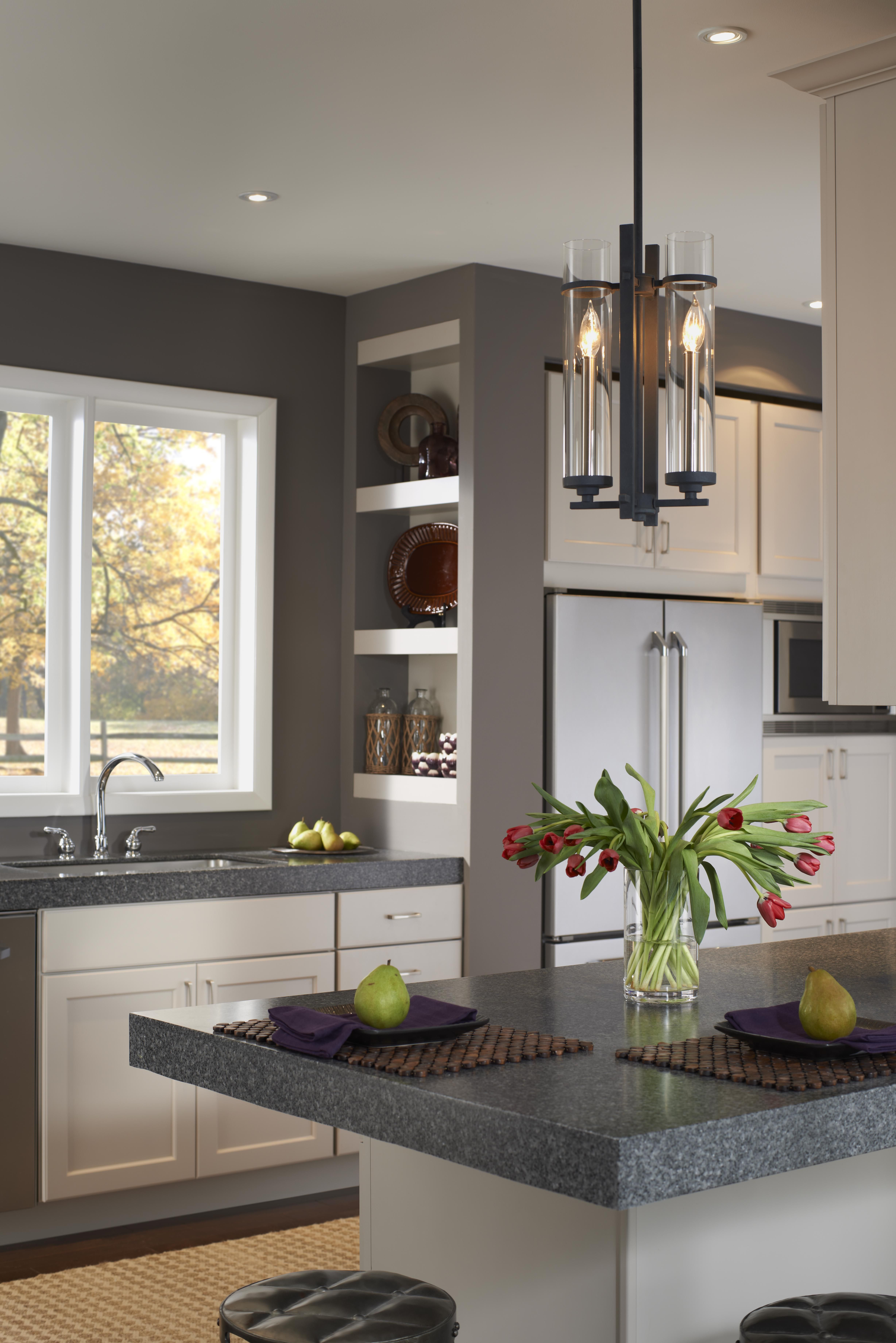 Kitchen lighting inspiration feiss ethan light mini pendant