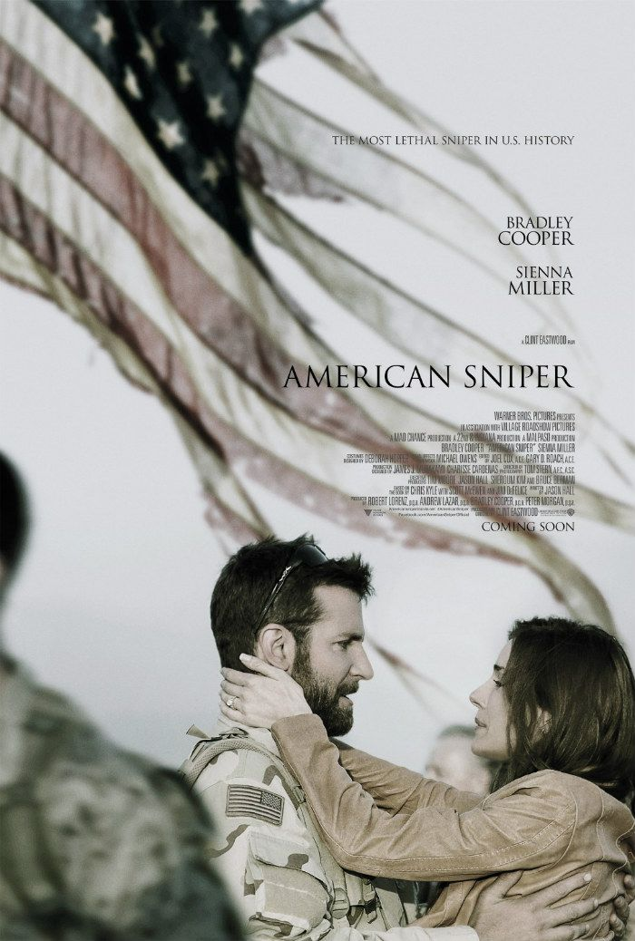 Poster & Clip For Clint Eastwood's 'American Sniper' – Starring Bradley Cooper As Navy SEAL Chris Kyle